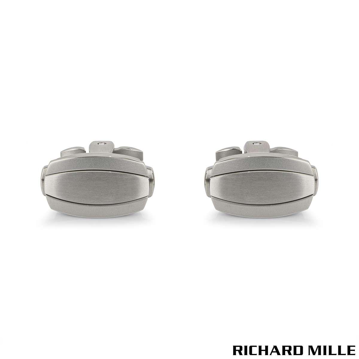 Richard Mille Titanium Automatic Cufflinks